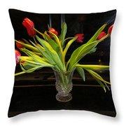 Tulip Mania 18 Throw Pillow