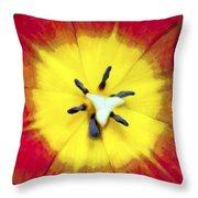 Tulip Nucleus Throw Pillow