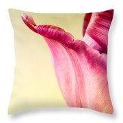 Tulip Petal Throw Pillow
