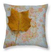 Tulip Poplar Study Throw Pillow