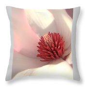 Tulip Tree Blossom Throw Pillow