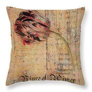 Tulip - Vivre Et Aimer S04t05 Throw Pillow