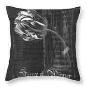 Tulip - Vivre Et Aimer S10t04t Throw Pillow