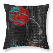 Tulip - Vivre Et Aimer S11ct04t Throw Pillow