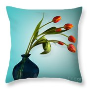 Tulips 6 Throw Pillow