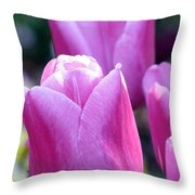 Tulips - Field With Love 05 Throw Pillow