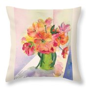 Tulips For Mother's Day Throw Pillow
