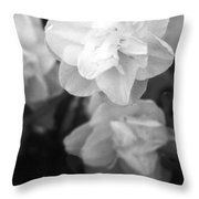 Tulips - Infrared 02 Throw Pillow