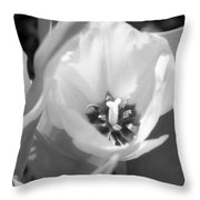 Tulips - Infrared 32 Throw Pillow