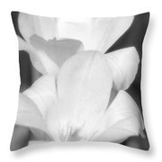 Tulips - Infrared 37 Throw Pillow
