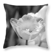 Tulips - Infrared 39 Throw Pillow