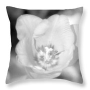 Tulips - Infrared 45 Throw Pillow
