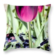 Tulips - Perfect Love - Photopower 2026 Throw Pillow