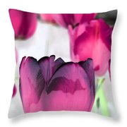 Tulips - Perfect Love - Photopower 2027 Throw Pillow