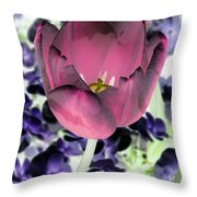 Tulips - Perfect Love - Photopower 2028 Throw Pillow