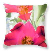 Tulips - Perfect Love - Photopower 2045 Throw Pillow