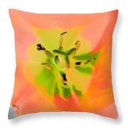 Tulips - Perfect Love - Photopower 2052  Throw Pillow