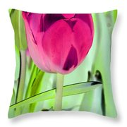 Tulips - Perfect Love - Photopower 2053 Throw Pillow