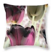 Tulips - Perfect Love - Photopower 2066 Throw Pillow