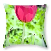 Tulips - Perfect Love - Photopower 2070 Throw Pillow