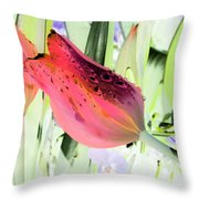 Tulips - Perfect Love - Photopower 2077 Throw Pillow