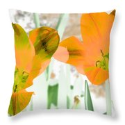 Tulips - Perfect Love - Photopower 2083 Throw Pillow