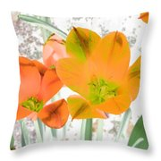Tulips - Perfect Love - Photopower 2084 Throw Pillow