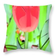 Tulips - Perfect Love - Photopower 2089 Throw Pillow