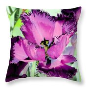 Tulips - Perfect Love - Photopower 2093 Throw Pillow