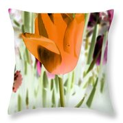 Tulips - Perfect Love - Photopower 2105 Throw Pillow