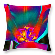 Tulips - Perfect Love - Photopower 2155 Throw Pillow