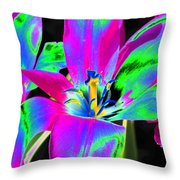 Tulips - Perfect Love - Photopower 2175 Throw Pillow