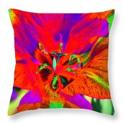 Tulips - Perfect Love - Photopower 2179 Throw Pillow