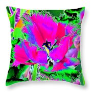 Tulips - Perfect Love - Photopower 2183 Throw Pillow