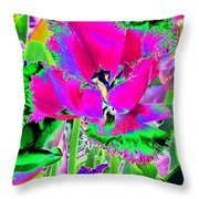 Tulips - Perfect Love - Photopower 2184 Throw Pillow