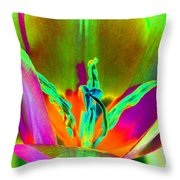 Tulips - Perfect Love - Photopower 2201 Throw Pillow