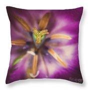 Tulips Star Throw Pillow