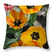 Tulips Tp Throw Pillow