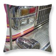 Tulsa Fire Department At State Fair P5 Throw Pillow