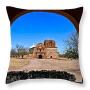 Tumacacori Throw Pillow