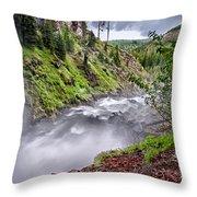 Tumalo Creek Throw Pillow