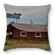 Tumble Inn Throw Pillow