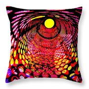 Tumbler Throw Pillow by Robert Geary