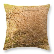 Tumbleweed Throw Pillow