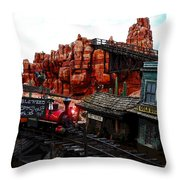 Tumbleweed Town Magic Kingdom Throw Pillow