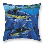 Tuna Blitz Off0039 Throw Pillow