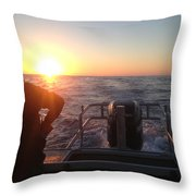 Tuna Trip Throw Pillow