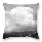 Tunbridge Vermont Storm Cloud Open Edition Throw Pillow
