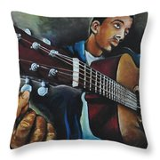 Tune Up Throw Pillow