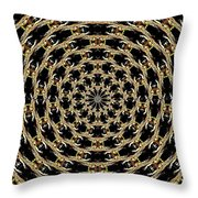 Tunnel Of Eyes Throw Pillow